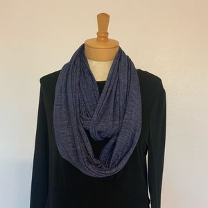 Athleta Infinity Space Dyed Scarf Blue